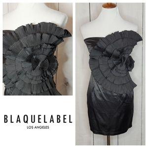 Blaque Label LA strapless cocktail dress NWT